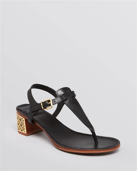 burch sandals sale burch sandals audra in black lyst