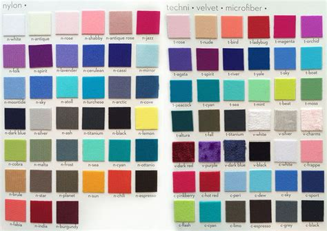 yumiko color chart most accurate colour chart new year new yumiko