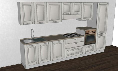 cucina di base cucina classica bolgheri di stosa cucine composizione base
