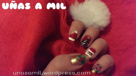 imagenes uñas decoradas masglo 2013 dise 241 o de u 241 as para navidad u 241 as a mil