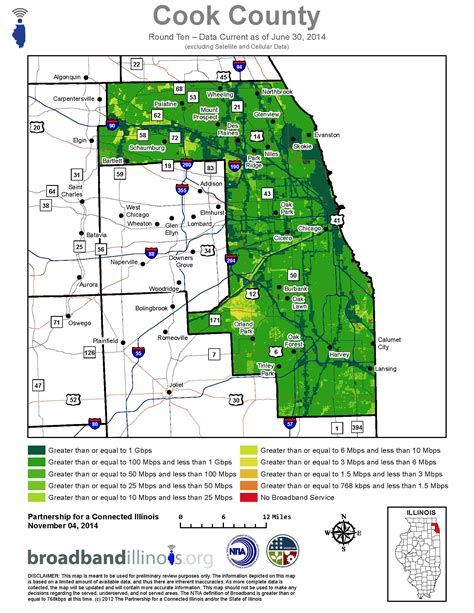 Records Cook County Il Cook County Maps Broadband Illinois