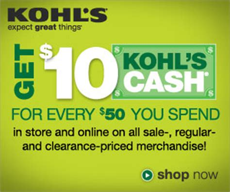 free online coupons online coupon codes and cash back 10 kohl s cash coupon 2017 kohl s promo deals