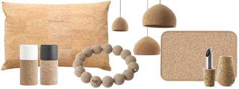 sustainable interior design products green design trend for your home cork products