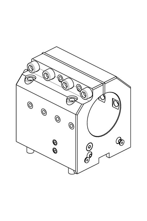 M.T. S.r.l. – AXIAL BOHRHALTER Ø80mm H=85mm