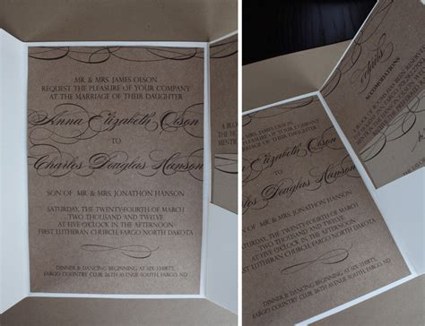 Wedding Invitations Fargo Nd by The Collection Fargo Wedding Stationery 187 Lindsay