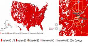 what are the coverage maps for u s carriers android