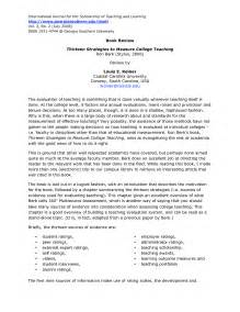 College Level Essay Sles by Writing A Book Report College