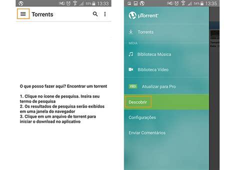 tutorial utorrent android utorrent como pesquisar e descobrir torrents para baixar