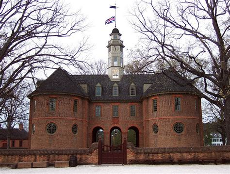 house of burgess the capitol in williamsburg virginia the first building called a quot capitol quot in the new world