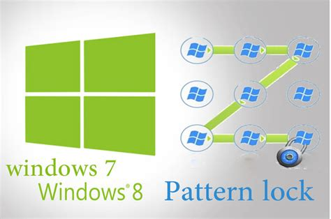 pattern lock tool how to set pattern lock in windows 7 8 swooosh tech