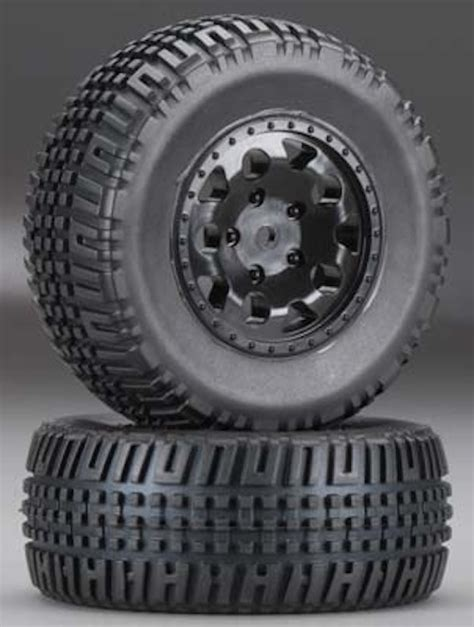 91101 Team Associated Kmc Hex Wheels Black Hex 2pcs associated 91104 kmc hex black wheels tires 2 sc10 4x4 new