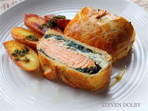 salmon en croute by steven dolby