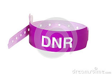 Do Not Resuscitate Patient ID Band Royalty Free Stock Photo   Image: 33885375