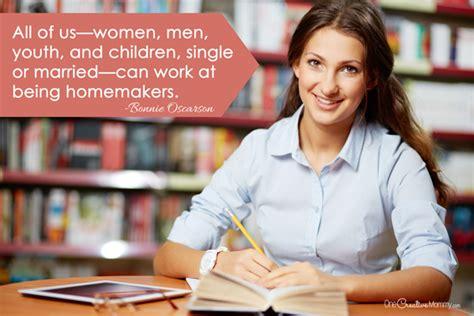 everyone a homemaker family idea and printable