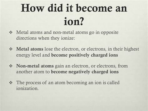 what does an ionizer do on a tower fan what is an ion chemistry presentation