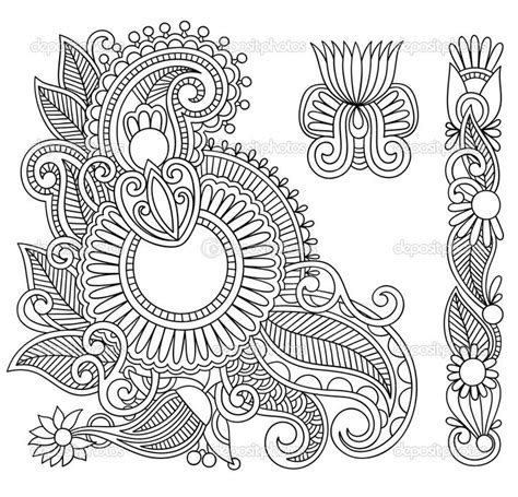 coloring pages henna art henna coloring pages henna color dibujos para colorear