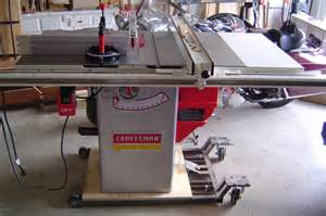Delta Cabinet Saw Review Craftsman Professional 22124 10 Quot Table Saw By