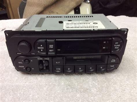 durango jeep 2000 jeep dodge radio cassette1998 1999 2000 2001 2002 dakota
