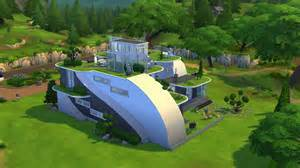 Sims 3 Home Design Tips The Sims 4 Futuristic House Building Youtube