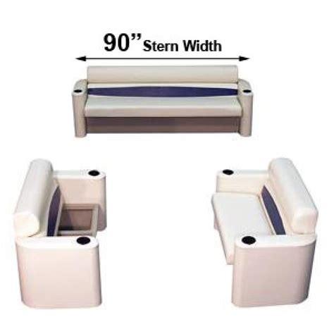 stern boat seats pontoon boat seats furniture 90 in across stern back 2