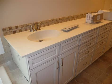 bathroom countertop tile ideas ceramic tile bathroom countertop ideas livelovediy how to