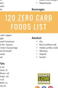 120 zero carb foods list almost zero carb foods run healthy lifestyle