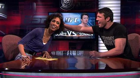 how to het my hair like sage steele and natural hair chael sonnen wants to touch sage steele s hair on espn