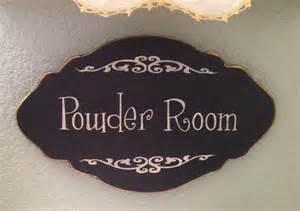 Powder Room Door Sign Powder Room Sign Perfect For Powder Room Door By