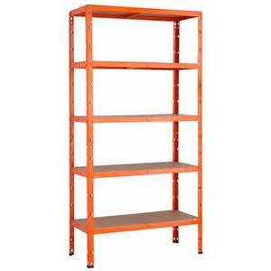 obi regale metall metall schwerlast steckregal orange 180 cm x 90 cm x 40 cm