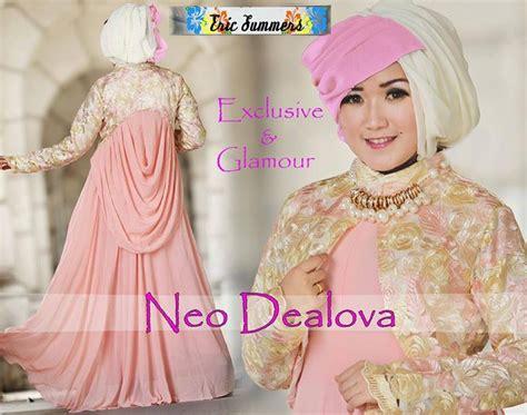 Supplier Baju Dealova Hq 2 busana muslim modern distributor baju muslim