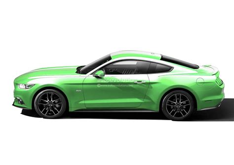 mustang gotta it green 2015 ford mustang in grabber blue and gotta it green