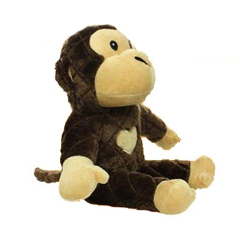 swinging monkey toy mighty safari dog toy morty the brown monkey baxterboo