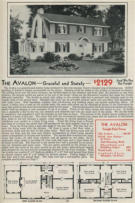 1931 kit home aladdin bungalow the carlton dutch colonial gambrel roof 1931 aladdin avalon kit