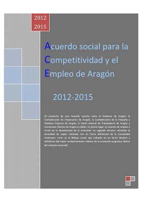 acuerdo 64 de 2012 esu cepyme arag 243 n documentaci 243 n acuerdo social para la