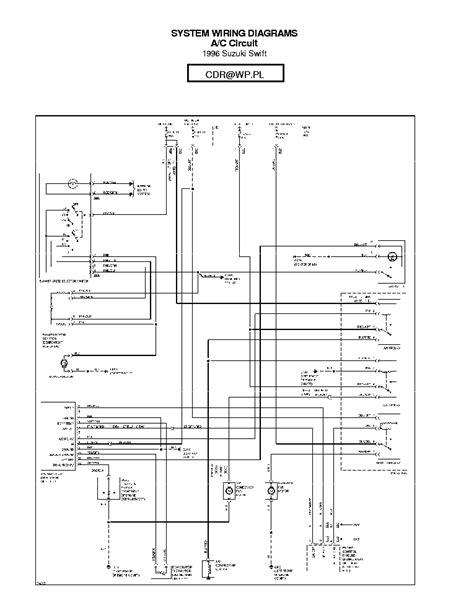 SUZUKI WAGON-R WIRING DIAGRAM Service Manual download