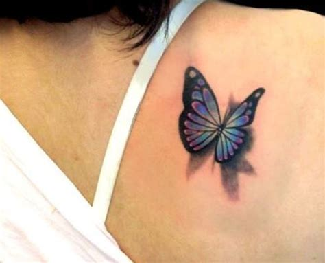 Tattoo 3d Feminina | 22 best images about 3d butterfly tattoos on pinterest