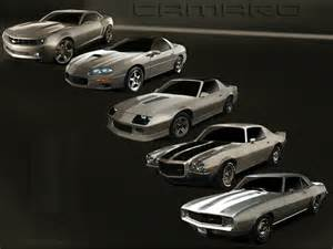 Chevrolet Camaro Models History Evolution Of The Chevrolet Camaro