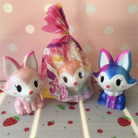 Squishy Jumbo Limited ibloom galaxy special fox fox squishy creamiicandy shop squishies best squishy shop in the