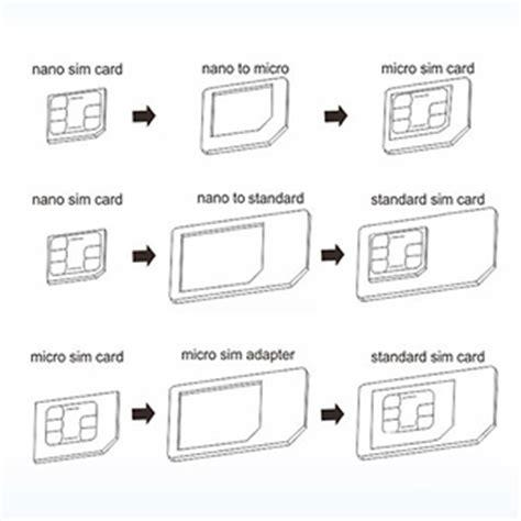 letter size mini to micro sim card free template pdf portable 3pc sim card adapter with nano sim card microsd