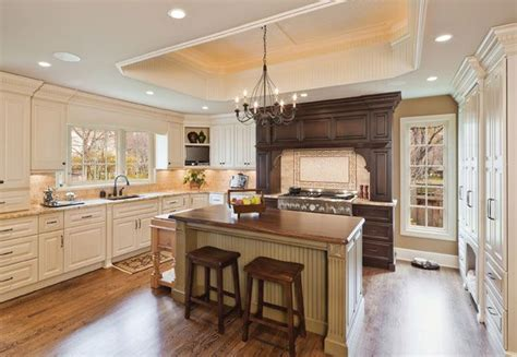 cream colored kitchen cabinets photos clad mostly in cream colored cabinets this traditional