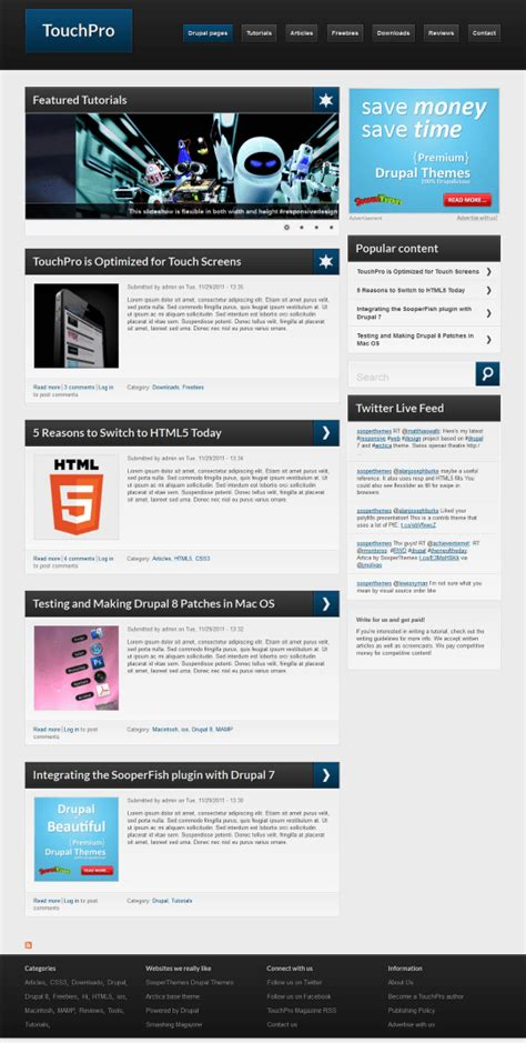 drupal theme kit easy beautiful drupal themes our top 10