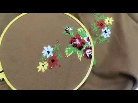 Kain Sifon Motif Bunga 14 kerajinan taplak meja dari kain strimin smpn 2 bangkalan