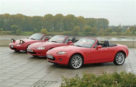 different mazda models difference between 98 and 99 models miata