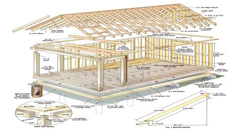 simple cabin plans with loft shed roof cabin with loft 12x16 cabin with loft plans