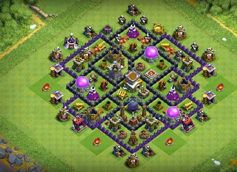best th8 base the best trophy bases th8 new 2018 anti everything