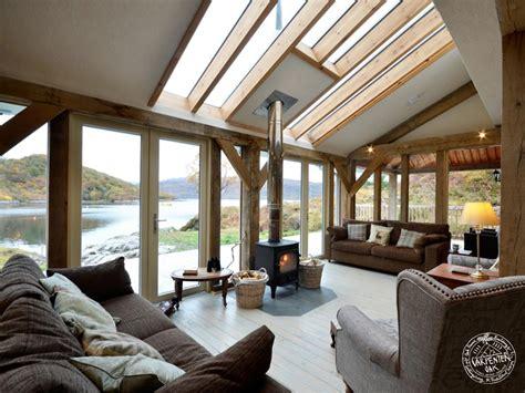 Grey S Dining Room Totnes Living Area Interior In Oak Framed House In Scotland