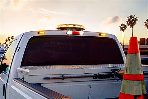 safety strobe lights for trucks vehicle led mini strobe light built in controller