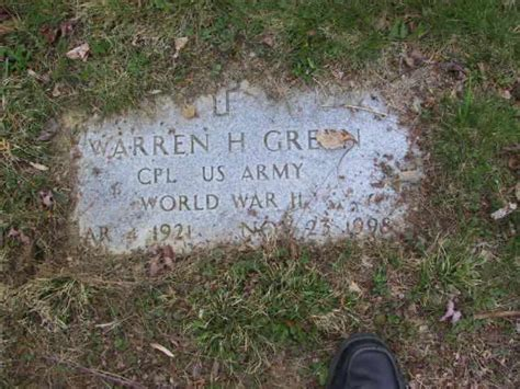 warren h green