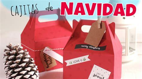 ideas para decorar una caja de navidad cajas de cart 243 n para regalos de navidad ideas para