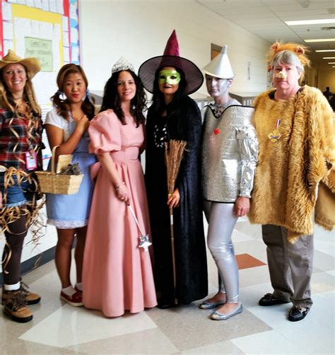 wizard  oz halloween group costume teachers teacher